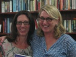 With Vanessa Radnidge, my lovely publisher from Hachette